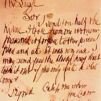 Jack the Ripper's Letter from Hell