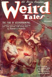 'Weird Tales' December 1936