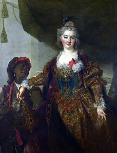 Nicolas de Largillière: Princess Rákóczi, National Gallery (London), approx. 1720 AD