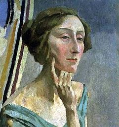 Painting of Edith Sitwell