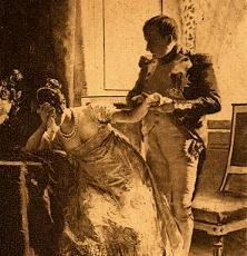 Raison d'Etat : Napoléon 1er et l'impératrice Joséphine en pleurs.1809