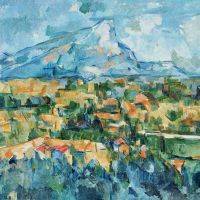 Ginsberg's Visionary Illuminations under Cézanne