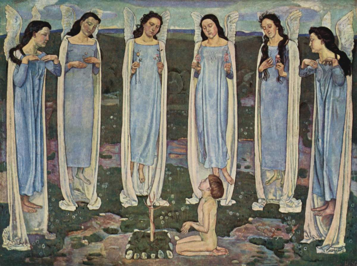 Parallelism in Ferdinand Hodler's Symbolist Painting