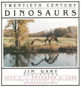 California_Academy_of_Sciences_1985_poster_83d40m_Jim_Gary_sculpture_exhibit