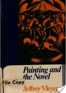 book-painting-and-the-novel-by-jeffrey-meyers-0719005914