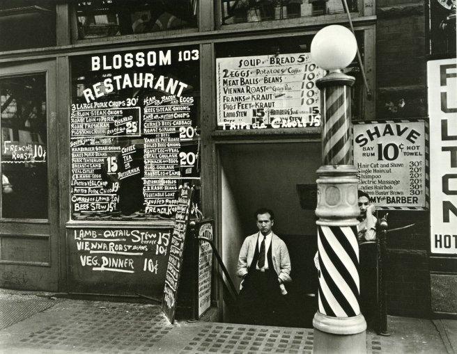 Blossom_Restaurant;_103_Bowery_by_Berenice_Abbott_in_1935