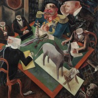 George Grosz: War→Madness→Dada