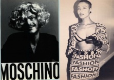 Franco moschino and 1991-